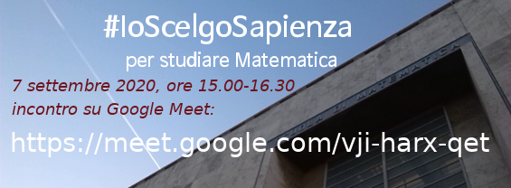 #IoScelgoMatematica